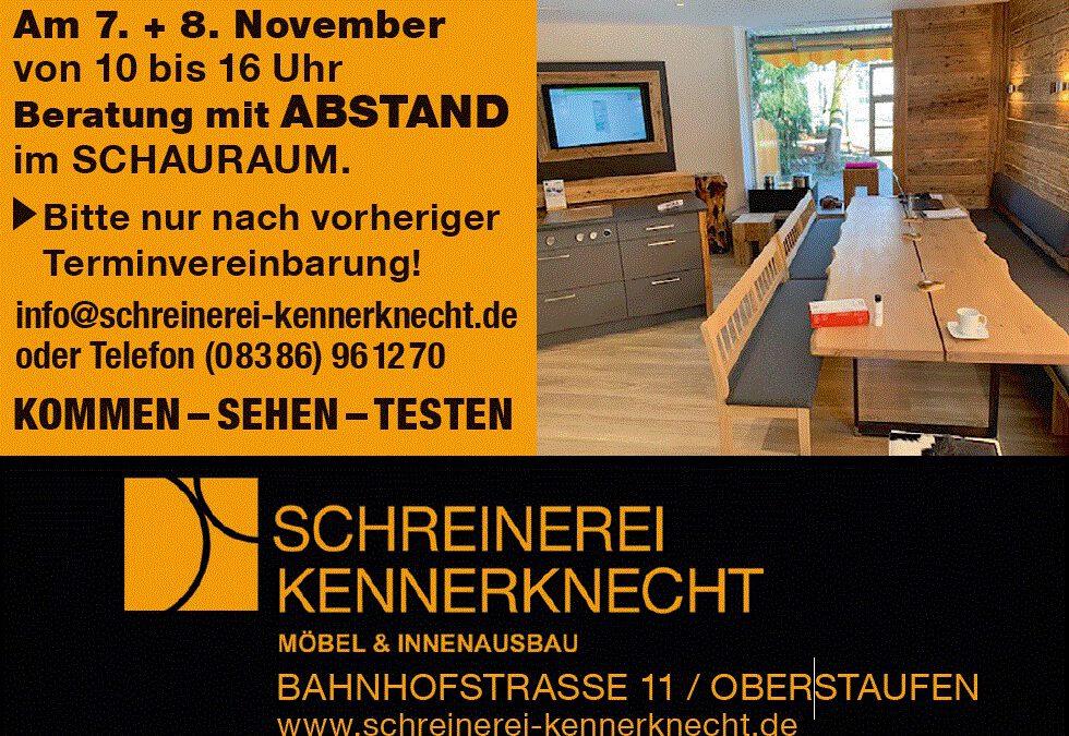 SCHAURAUM am 07. + 08.11. GEÖFFNET!